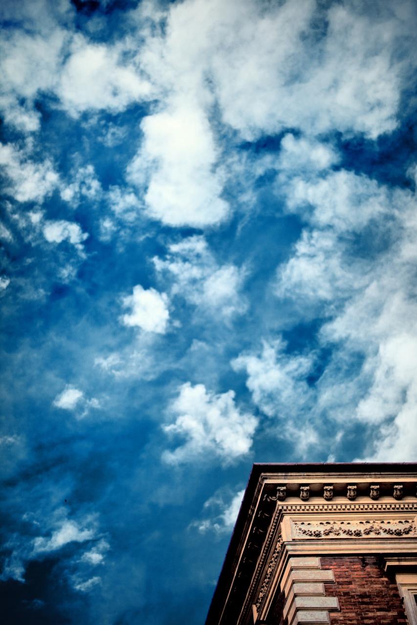 blue blue sky by kubica