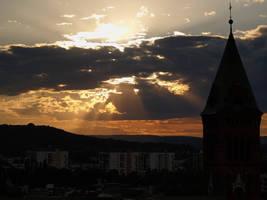 view from krzemionki by kubica