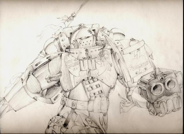 Grey Knight by Waaagh