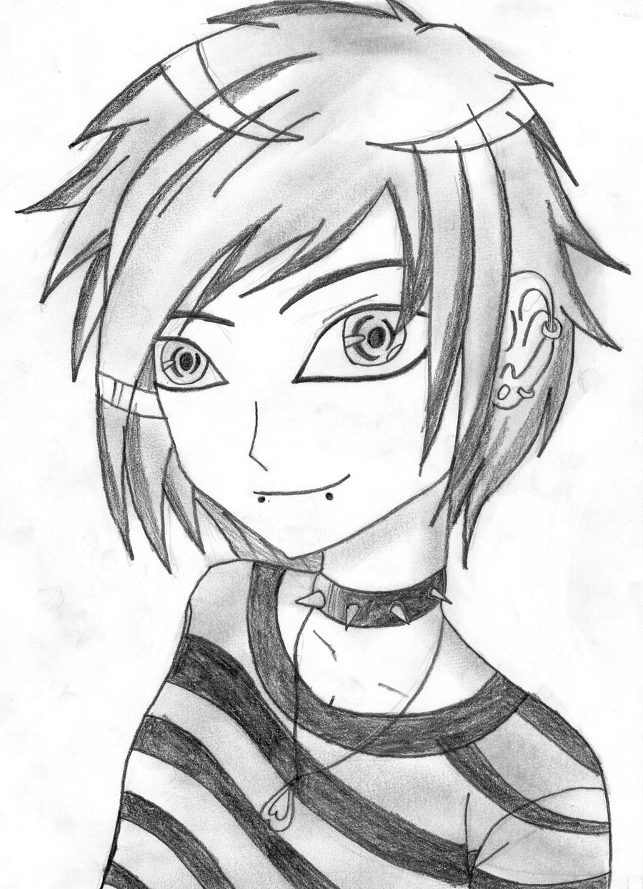 Anime Character By RavenWingZero On DeviantArt Ravenwingzero D53bn4d 307912909 Easy People To Draw