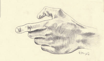 Hand study 3 by klice-chan