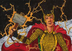 Loki: Worthy of Mjolnir