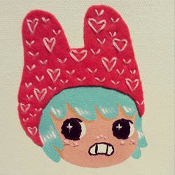 Bunny Hat by Brutemusandfriends