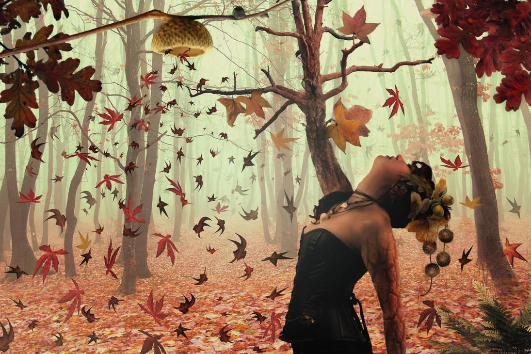 gaia by fall by EveBlackwood