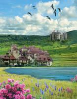 magic spring by EveBlackwood