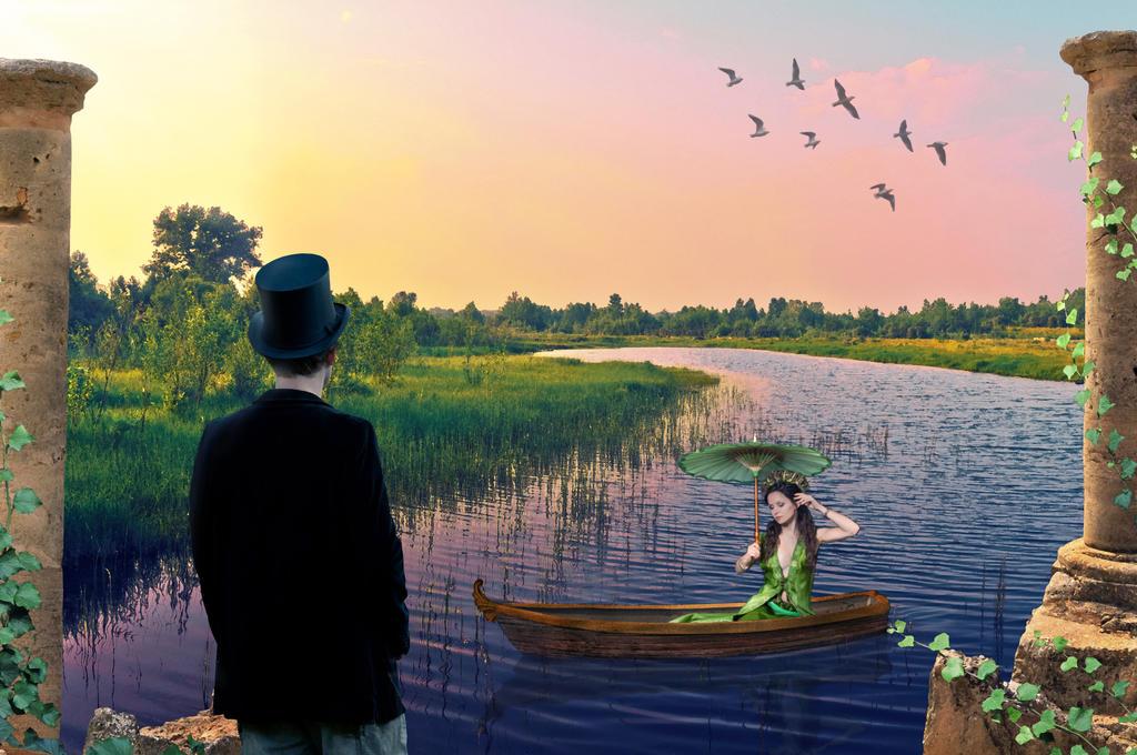 romantic encounter by EveBlackwood