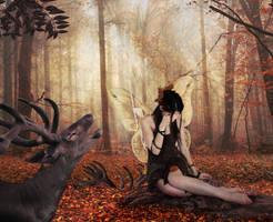 Autumn cry by EveBlackwood