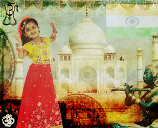 The many faces of India by EveBlackwood