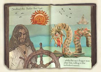 Sindbad's book by EveBlackwood