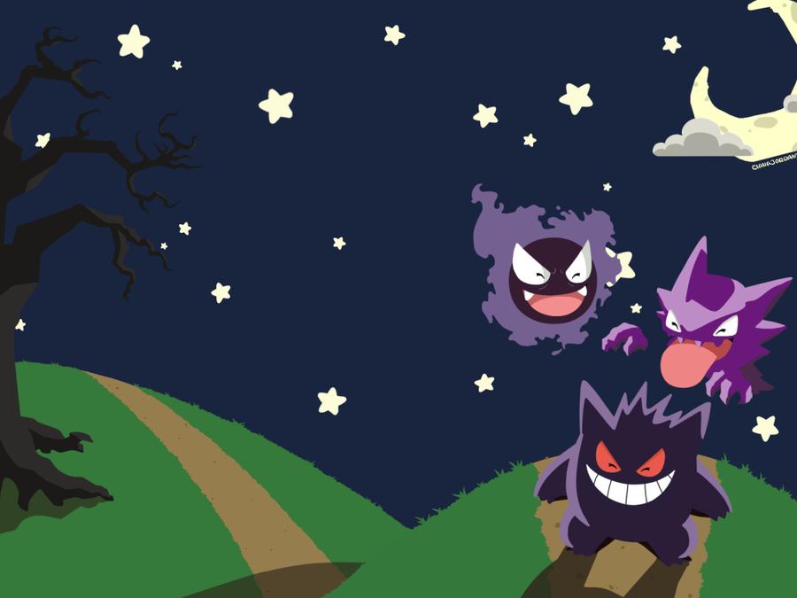 A Nice Night For a Fright Wallpaper by Skullipop on DeviantArt
