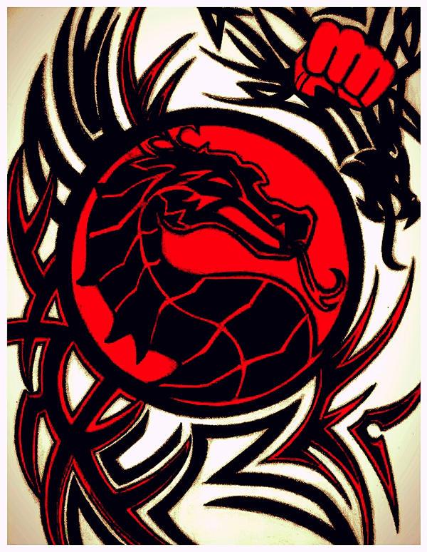 Mortal Kombat Logo By Lobbomorro On Deviantart