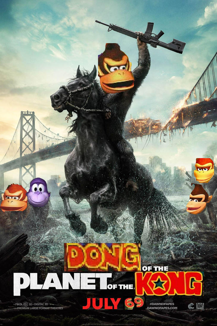 DONG of the Planet of the KONG by farhan43