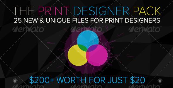 The Print Designer Pack - 7 Days to Stock Up by sktdesigns