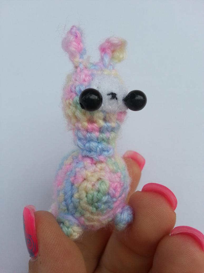 Amigurumi Alpacasso : Tiny Alpaca Amigurumi Plush by CMCarterArt on DeviantArt
