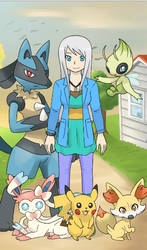 Sapphire and Her Previous team by Pokemonchamp80