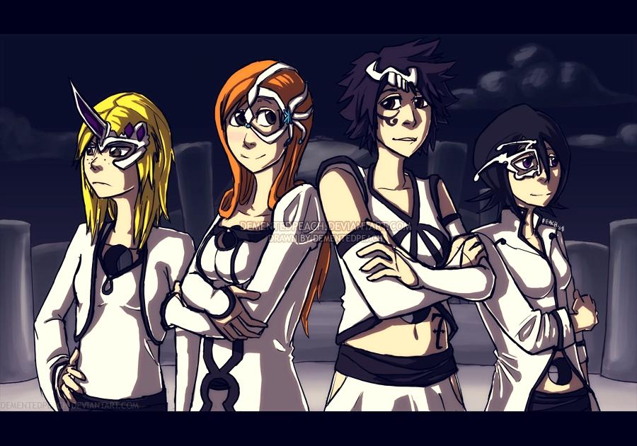 Bleach Espada Girls By Club