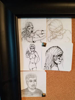 June 7th sketches