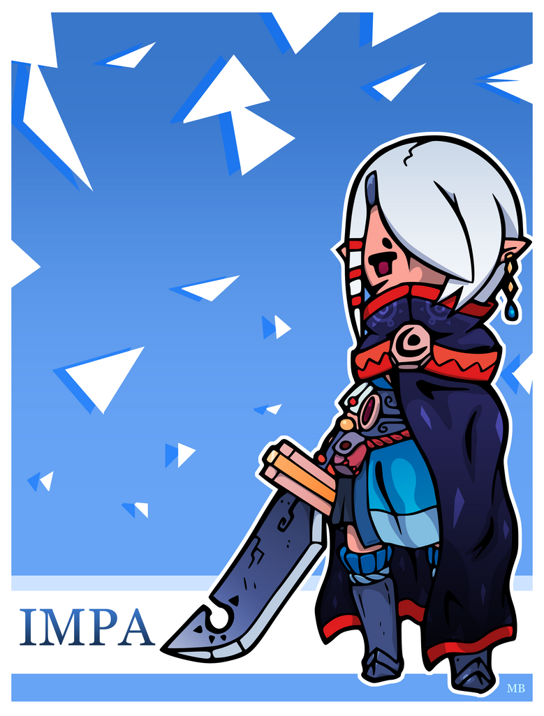 Impa-Priestess of the Moon by boultim