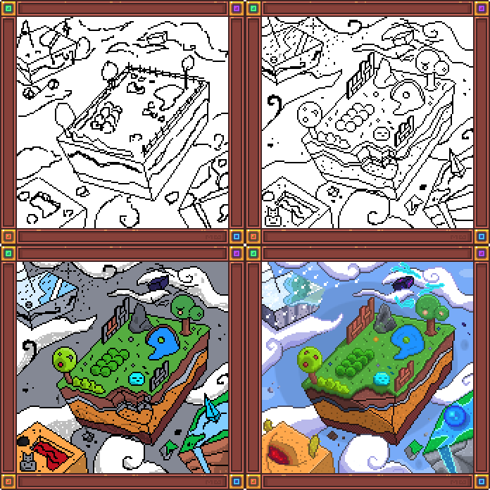 pixel D10 process by boultim