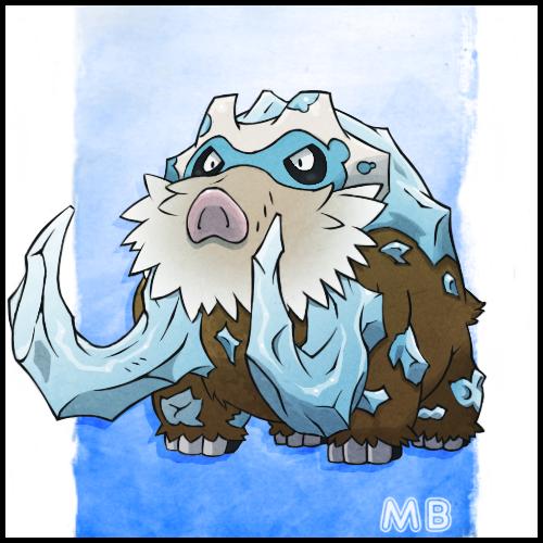 Mega Mamoswine by boultim