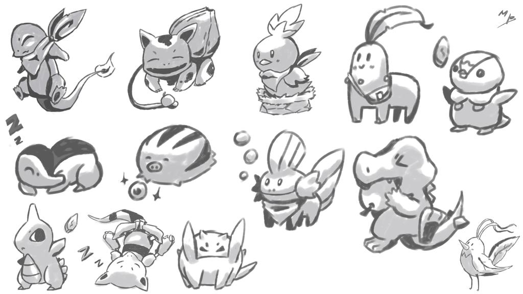 pokemon training by boultim