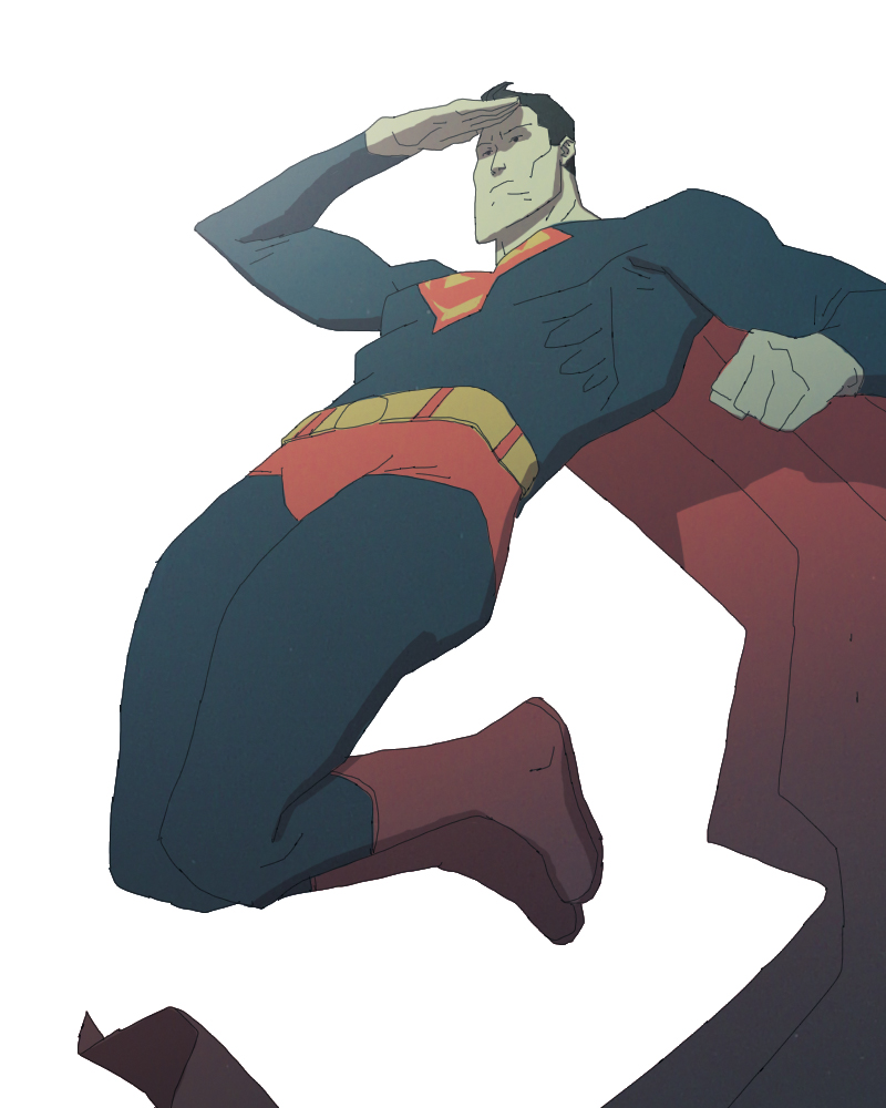 Superman by radsechrist