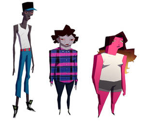 background characters by radsechrist