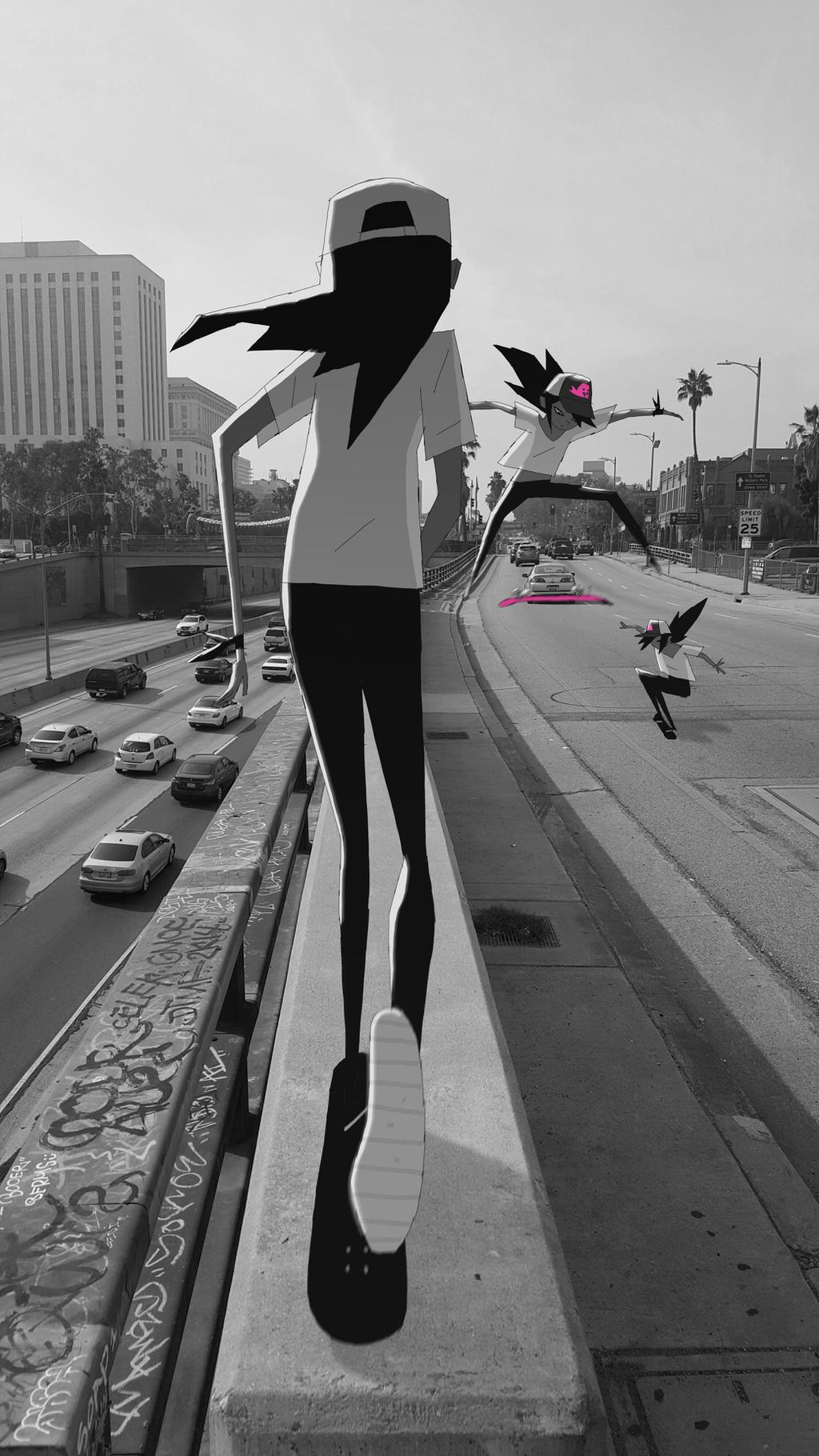Freeway by radsechrist