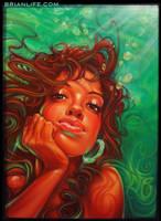 Aqua Girl by brianlife