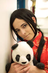 China: My Panda And I by Empyrean-Feather