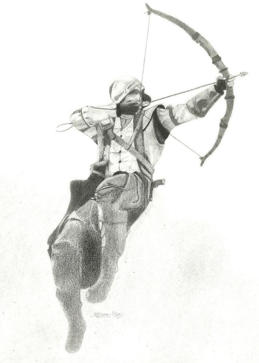 Assassin's Creed 3 Connor by JazzyBlue95