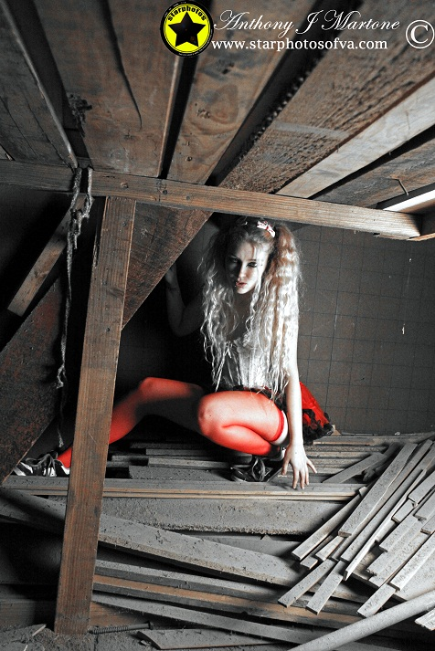 In the Attic by Starphotos again by KittenNightmare