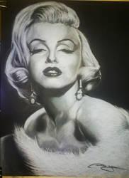 Marilyn Monroe by phareck