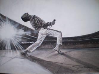 Freddie Mercury by phareck