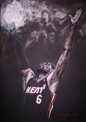 LeBron James by phareck