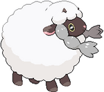 Wooloo HQ/Hi-Res Sprite by KingTapir