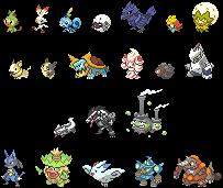 Pokemon Sword and Shield Menu/Box Sprites WIP