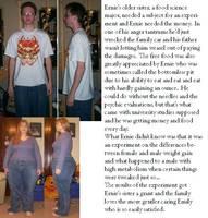 Ernie Metabolism Experiment by kronostar