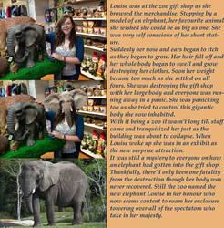 Louise Elephant by kronostar