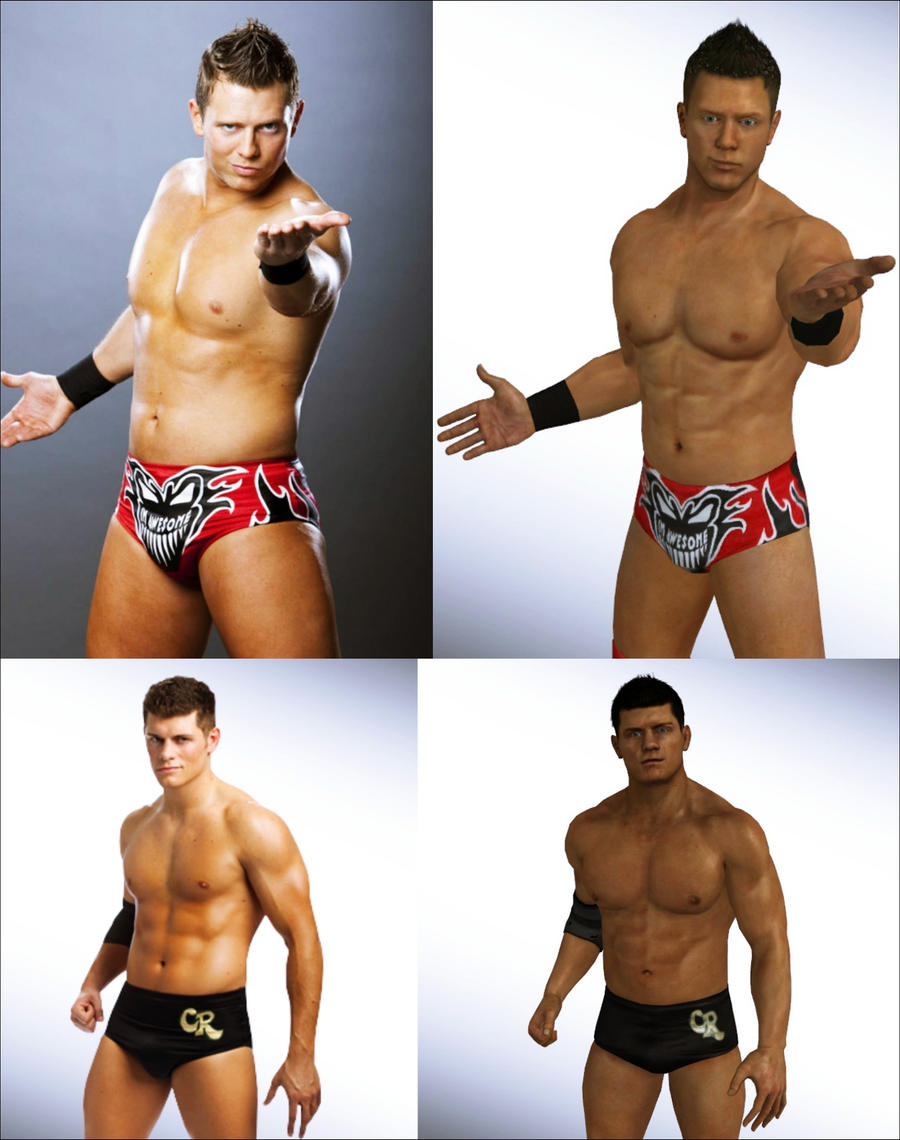 The Miz and Cody Rhodes by Lady-Lili
