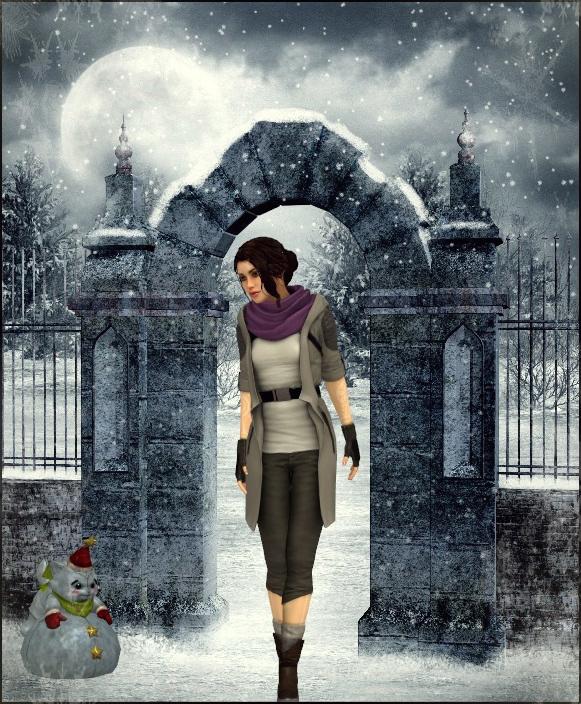 Gate by Lady-Lili