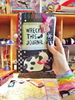 my Wreck this Journal by ange-demon