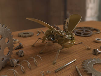 wind-up bug by ReginaldBull