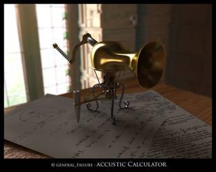 accustic calculator by ReginaldBull