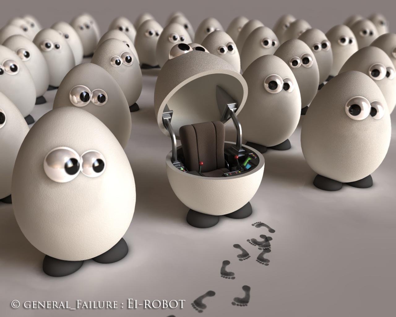 Ei-Robot by ReginaldBull