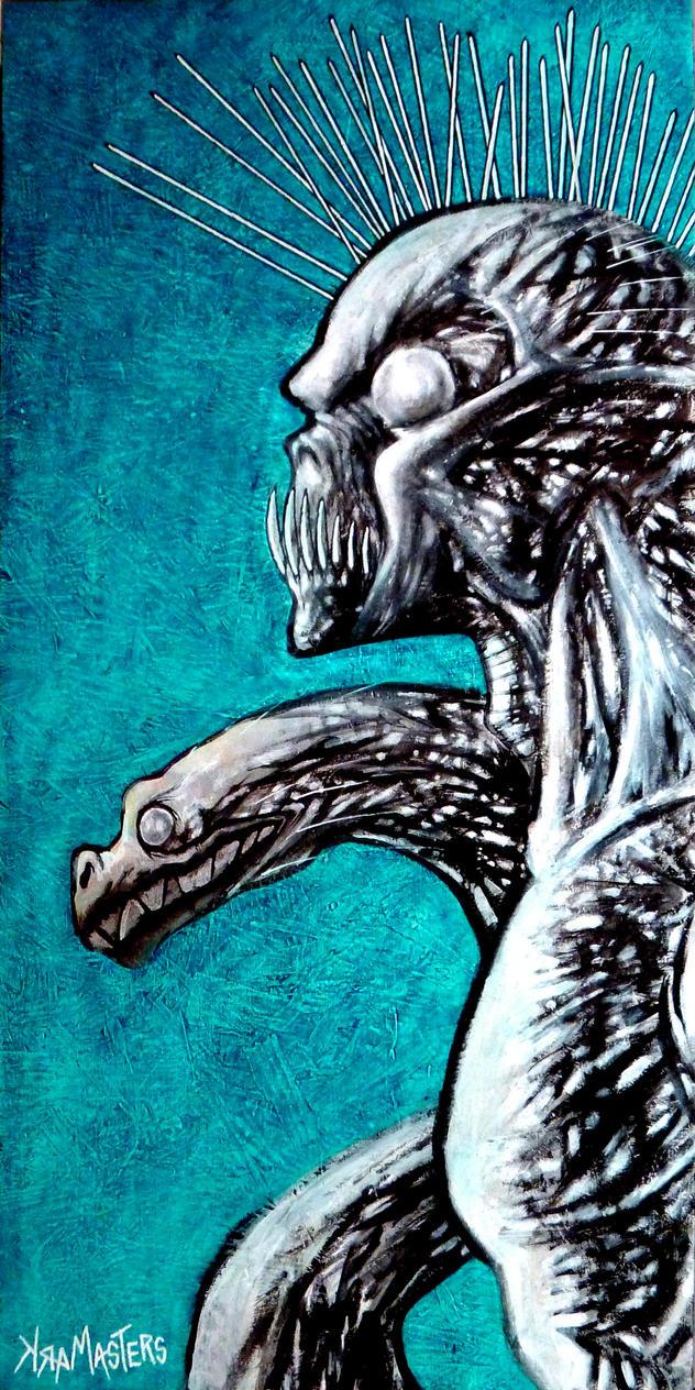 the Gargoyle's Pet by Arum1966