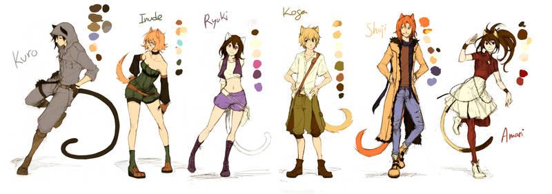 ATDK - main characters