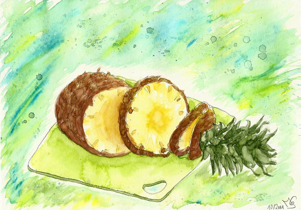 Juicy Pineapple by Tabascofanatikerin