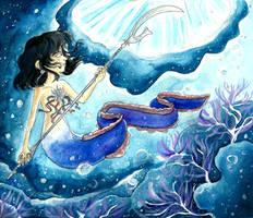 Contest: The Saturnian sea by Tabascofanatikerin