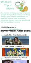 Top 10 favourite Monty Python episodes